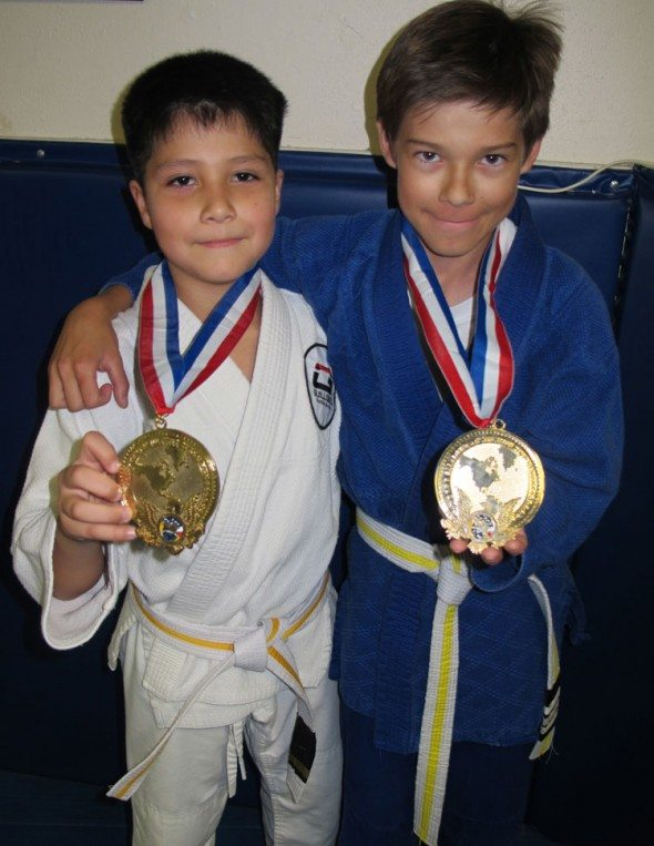 Guillobel San Clemente BJJ champs: 2 BJJ gold medals earned already 2011