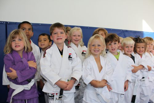 Kids martial arts lessons focus