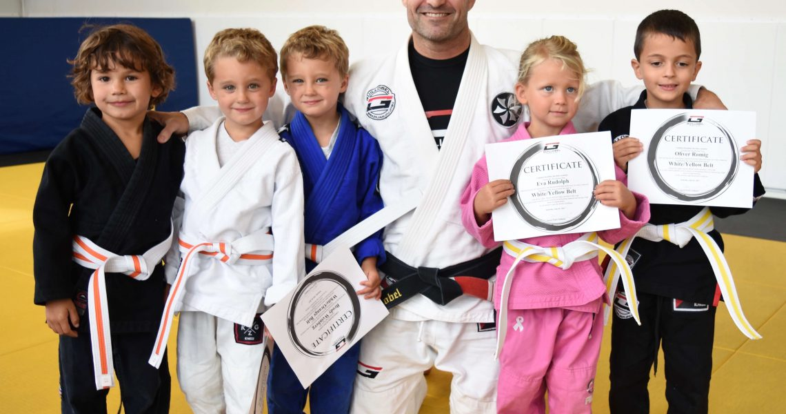 martial arts for 4-year-old child