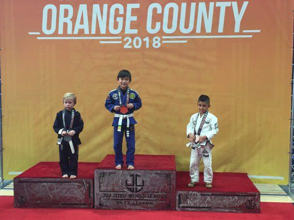 kid martial art champion