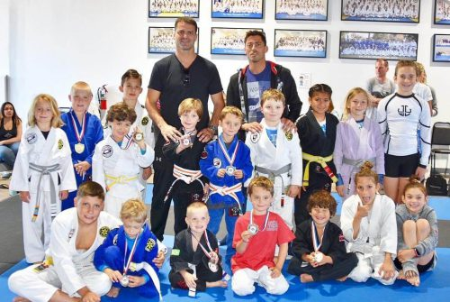 Kids martial art competition