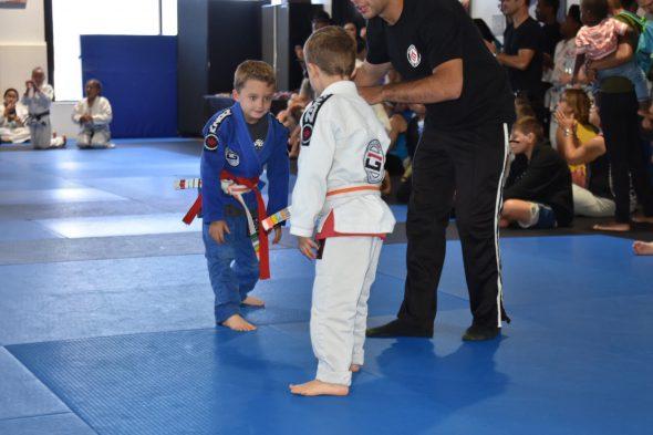 martial art competition improve focus